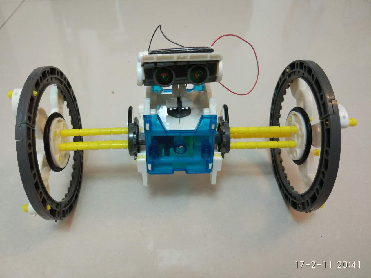 轮式机器人1