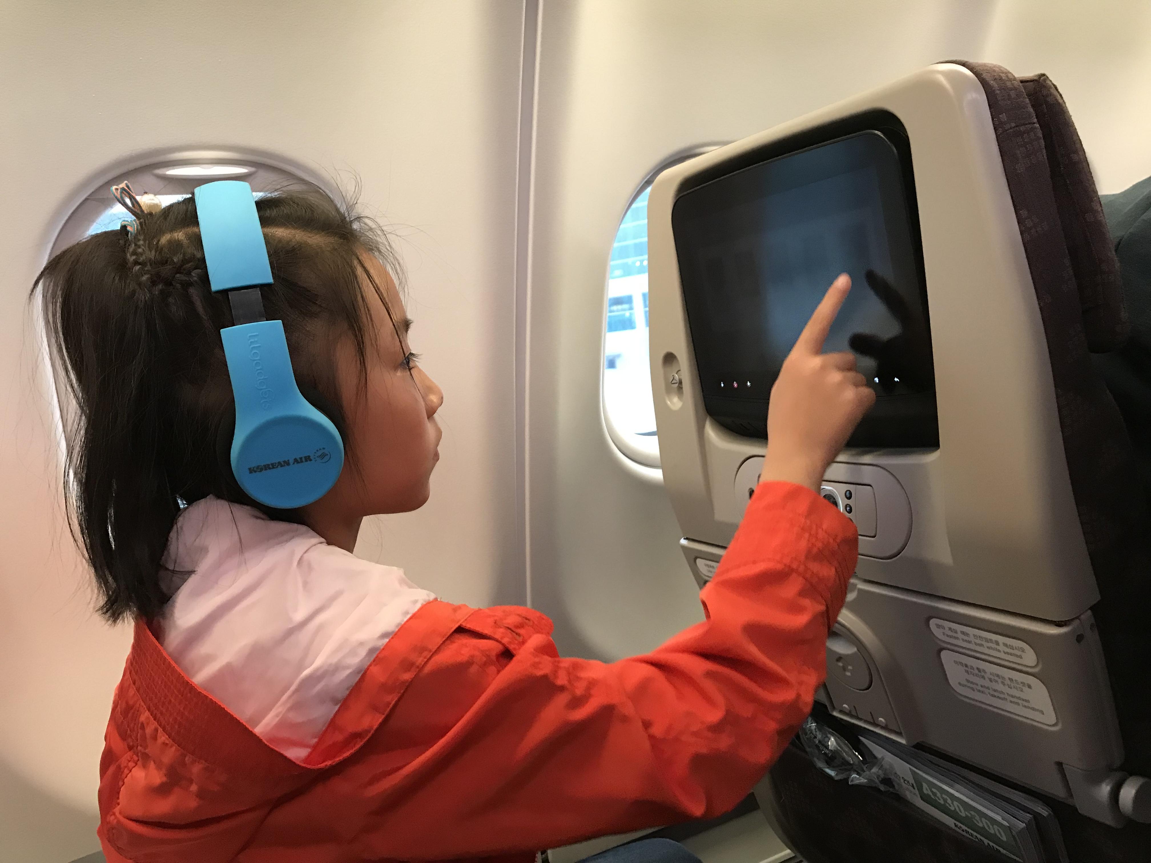 在航班上娱乐(有些累了)