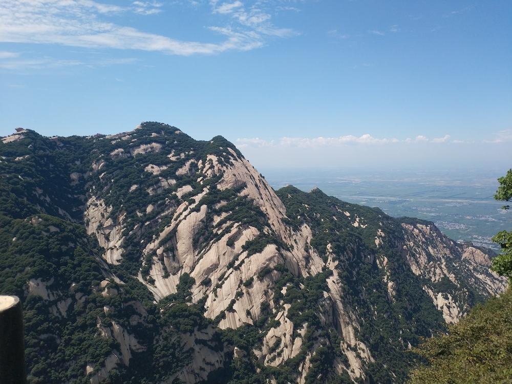 站在华山上一览纵山小1