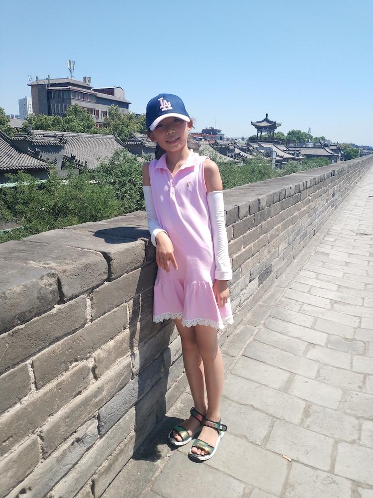 在古城墙上2