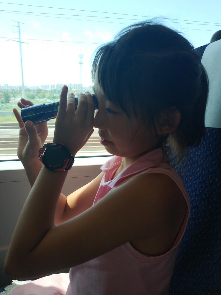 坐在去往重庆的列车上