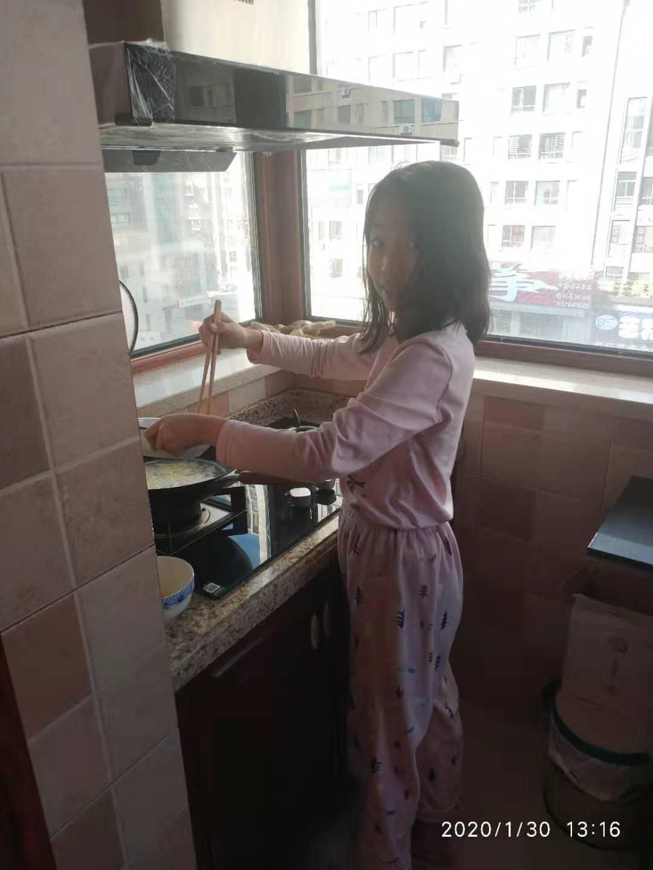 帮姥姥做菜