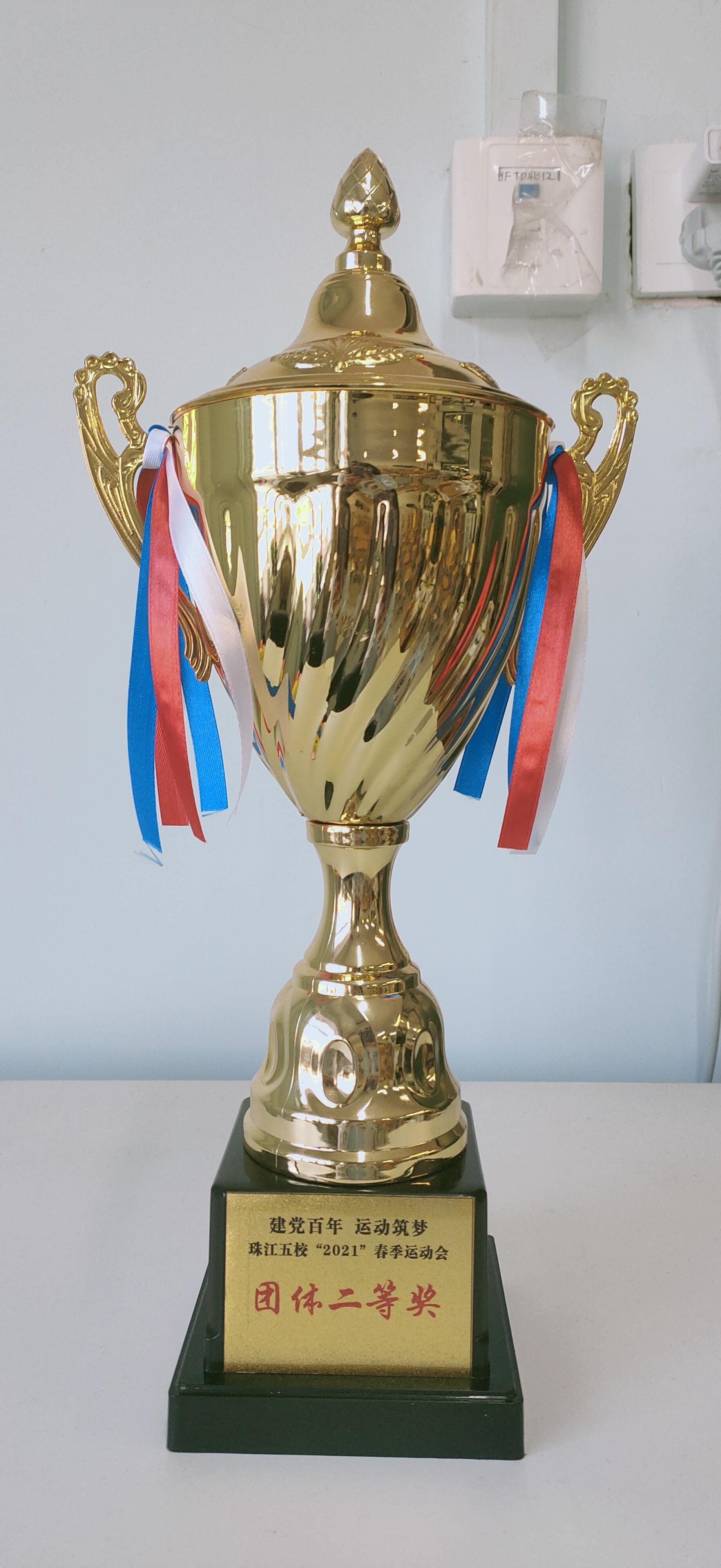 我班获得团体二等奖的佳绩